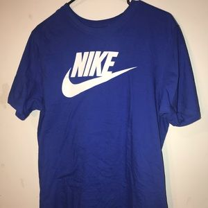 Royal Blue Nike Cotton T shirt | Size Large.